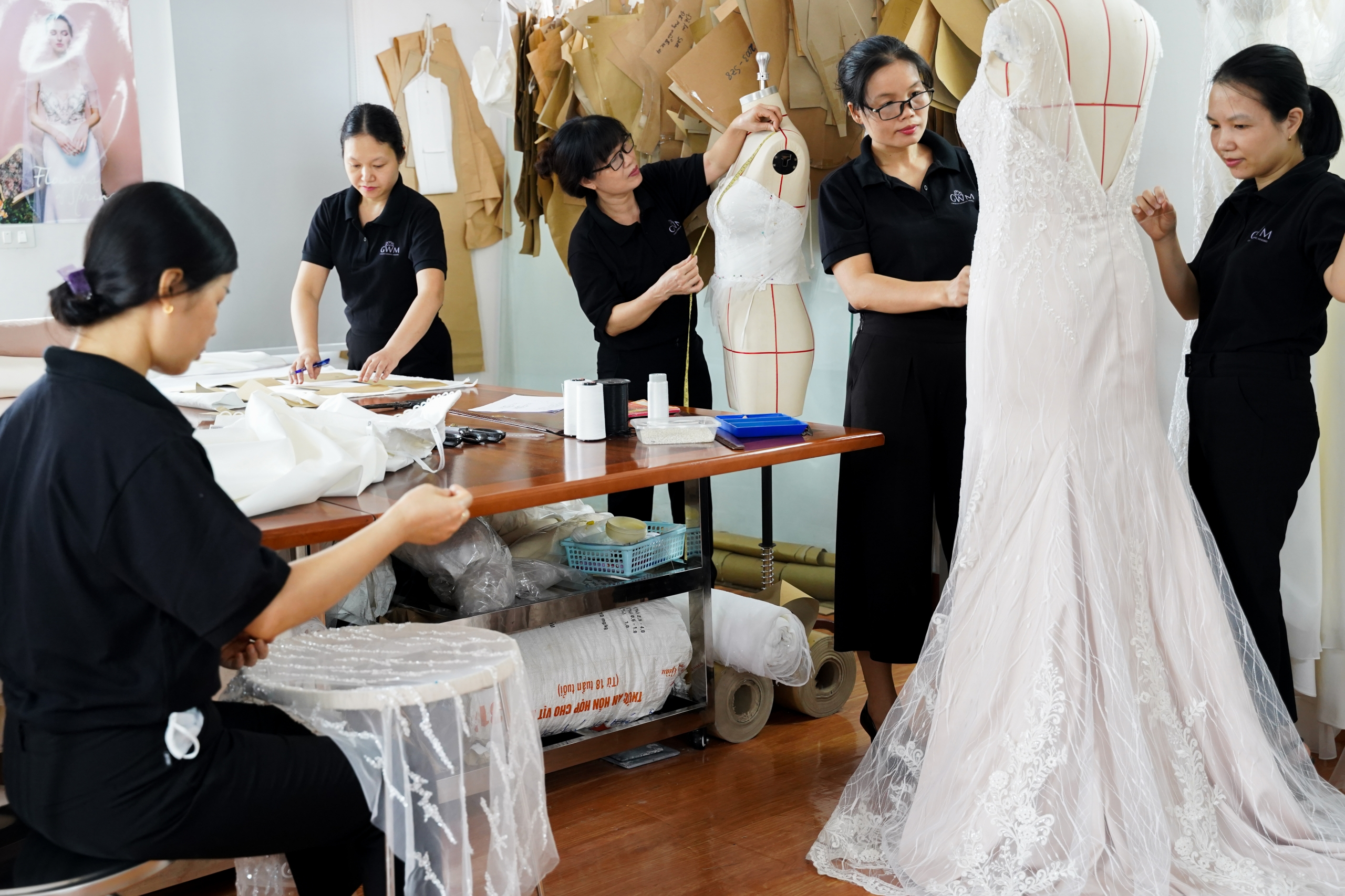 Couture wedding dress in Melbourne