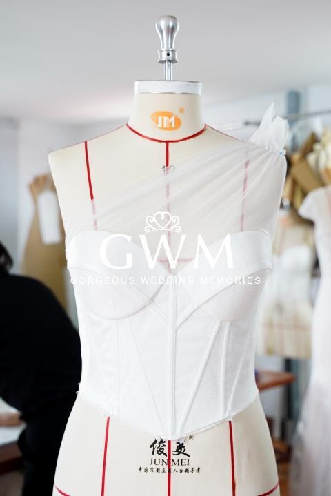 Custom made wedding dress in Melbourne