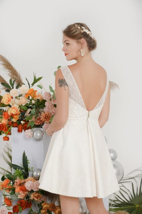 Made to measure wedding dress Melbourne