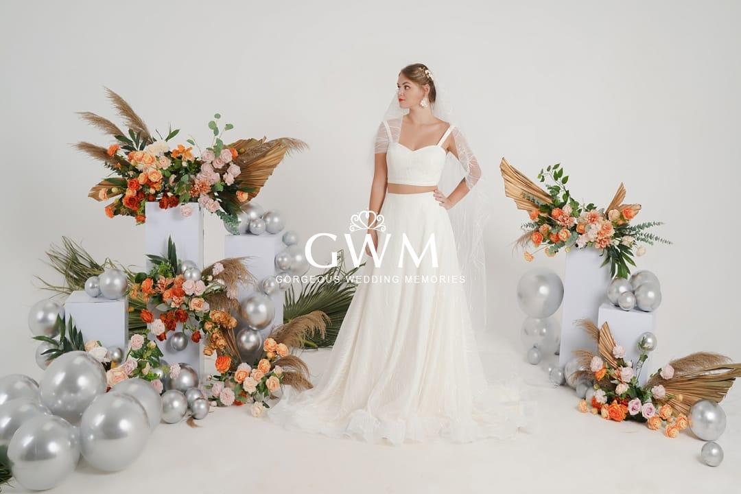 Modern bridal dresses melbourne
