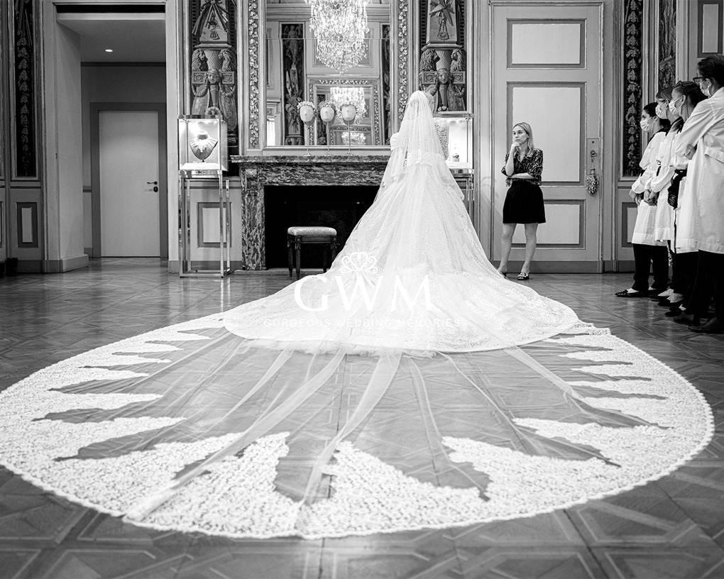 Lady Kitty Spencer's wedding dress